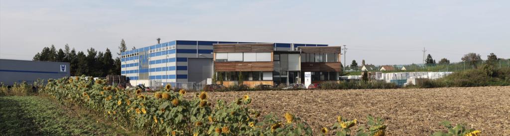 Firmengebäude Bild schmal